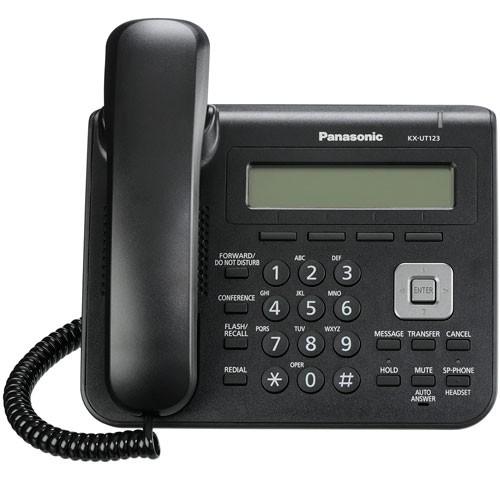گوشی تحت شبکه SIP پاناسونیکKX-UT123