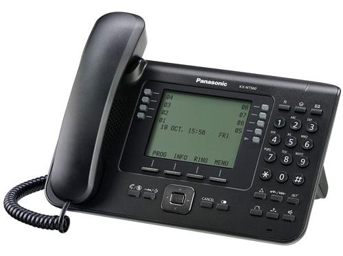 گوشی سانترال تحت شبکه پاناسونیک KX-NT560
